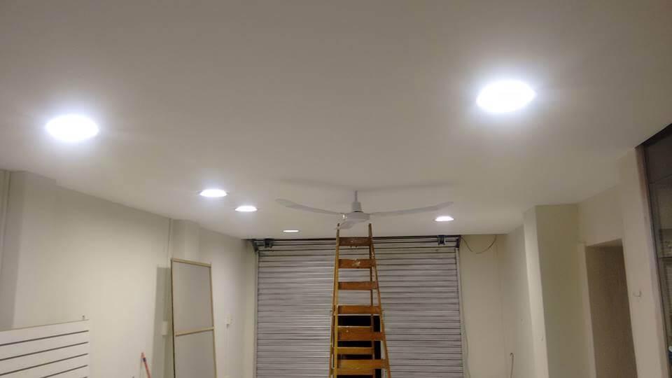 Cielo Raso en Salón de belleza con drywall (video)