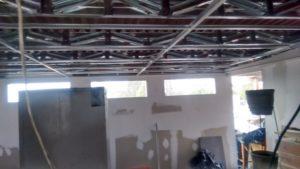 techo tijerales sistema drywall
