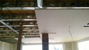techo cielo raso