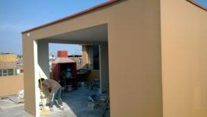 drywall construccion en azoteas