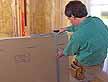 regla t para cortes en drywall