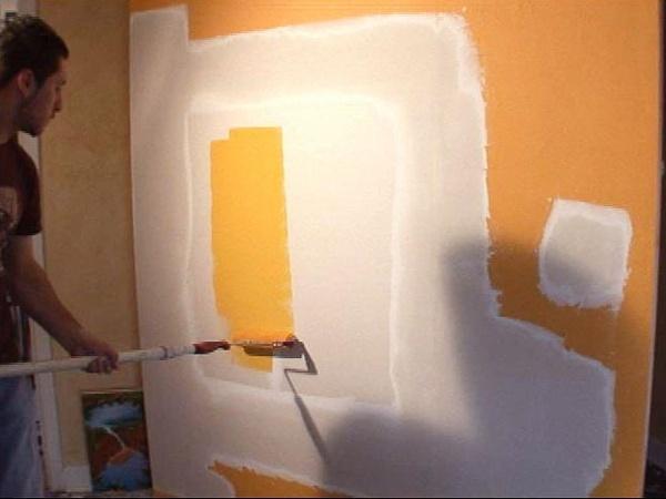 pintura en drywall