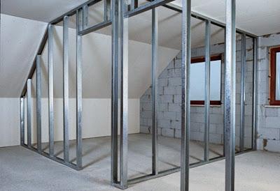drywall estructura