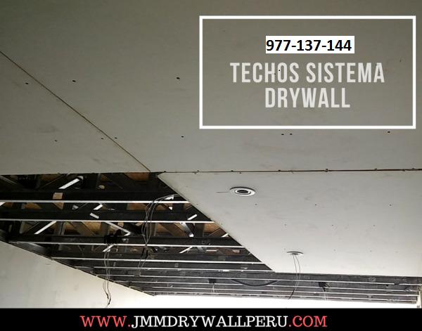 Construir Con Drywall Peru