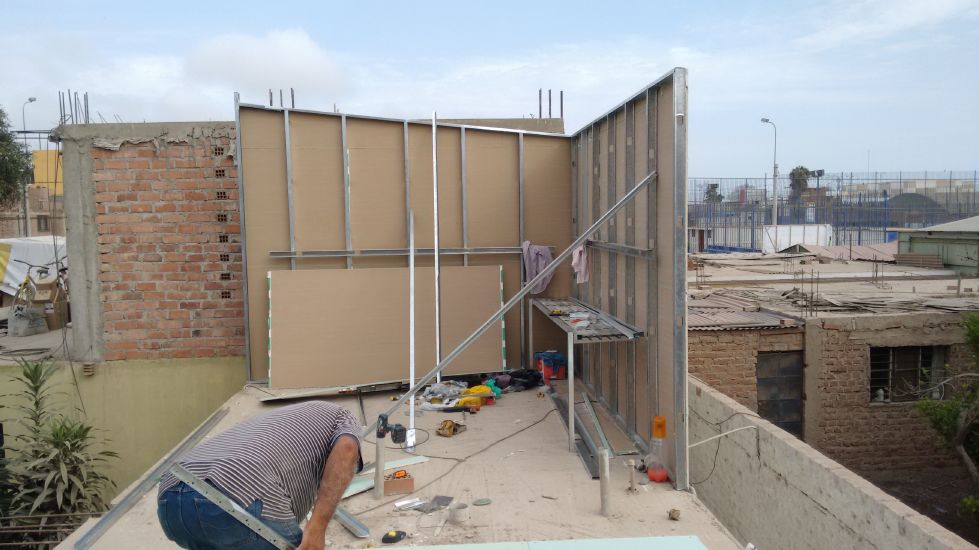 Sistema Drywall En Espacios Vacios Un Nuevo Ambiente