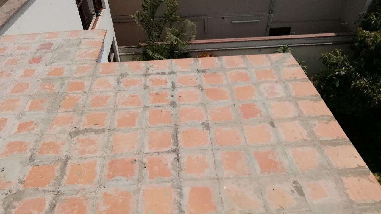Techos De Drywall Con Ladrillo Pastelero