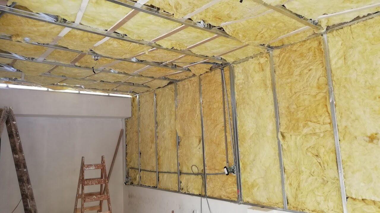 Construccion En Drywall Aislante Acustico – Lana Termo Acustico