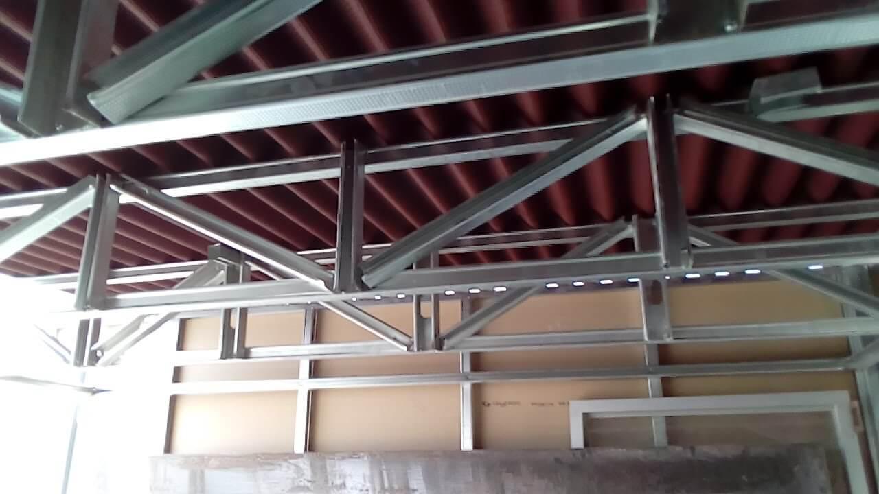 instalar drywall