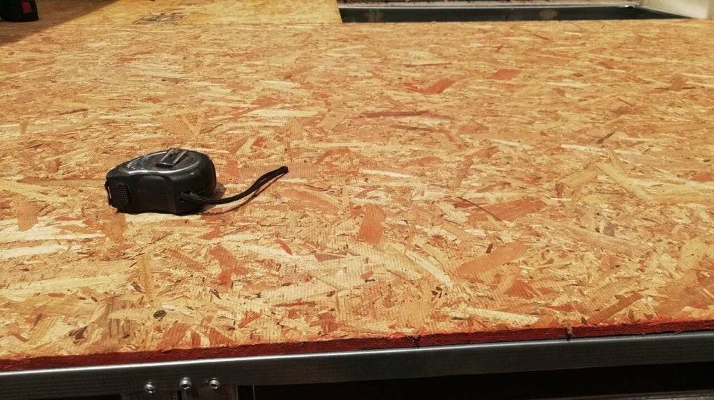 placa osb para ladrillo pastelero