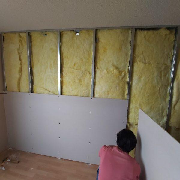 Muro de drywall