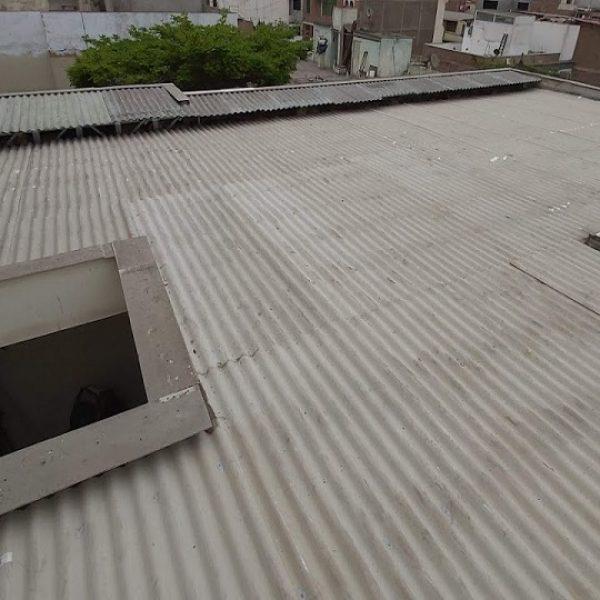 Reparación De Techo Con Calaminas - Sistema Drywall En Surco